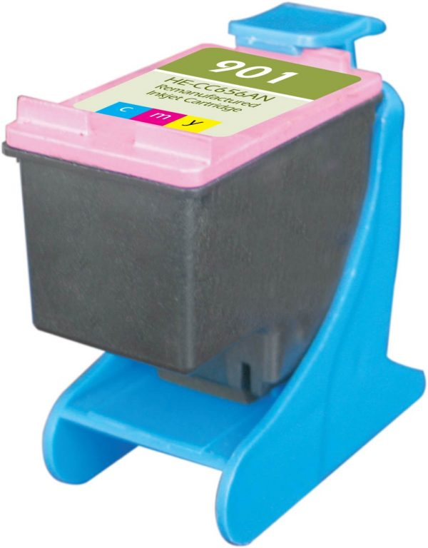 HP901 Color Remanufactured Printer Ink Cartridge