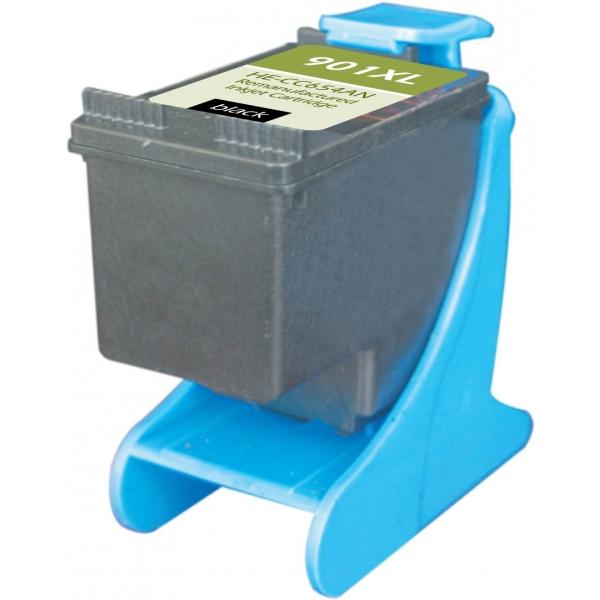 HP901 XL High Yield Black Remanufactured Printer Ink Cartridge