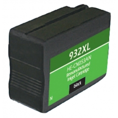 HP932 XL High Yield Black Remanufactured Printer Ink Cartridge