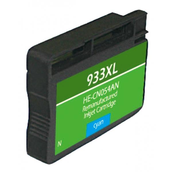 HP933 XL High Yield Cyan Remanufactured Printer Ink Cartridge