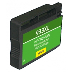 HP933 XL High Yield Yellow Remanufactured Printer Ink Cartridge