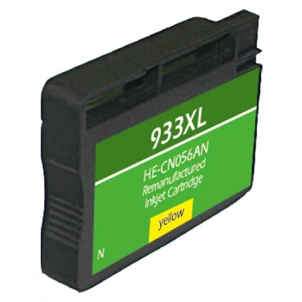 HP933 XL High Yield Yellow Remanufactured Printer Ink Cartridge