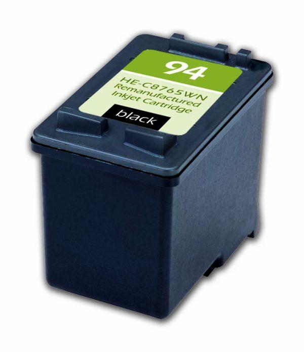 HP94 Black Remanufactured Printer Ink Cartridge