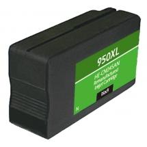 HP950 XL High Yield Black Remanufactured Printer Ink Cartridge