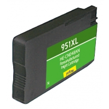 HP951 XL High Yield Yellow Remanufactured Printer Ink Cartridge