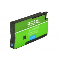 HP952 XL High Yield Cyan Remanufactured Printer Ink Cartridge