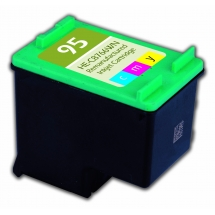 HP95 Color Remanufactured Printer Ink Cartridge