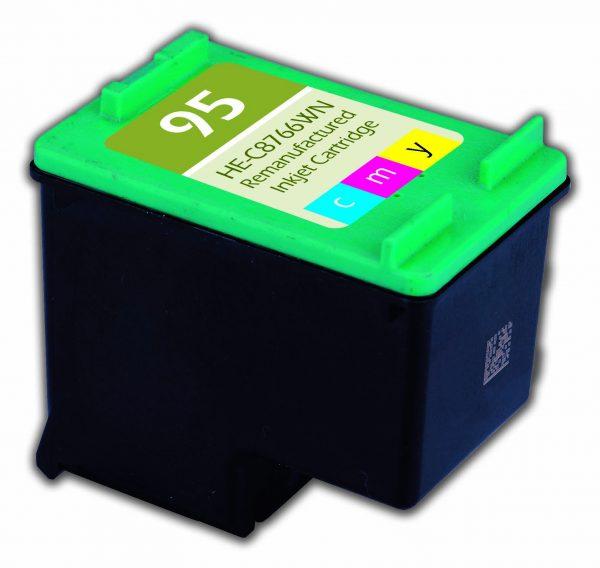 HP95 Color Remanufactured Printer Ink Cartridge