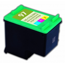 HP97 Color Remanufactured Printer Ink Cartridge