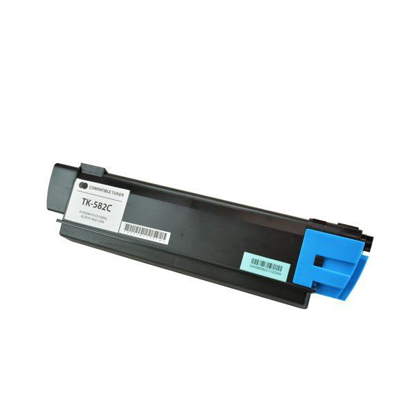 Kyocera Mita TK-582C Cyan Compatible Copier Toner Cartridge