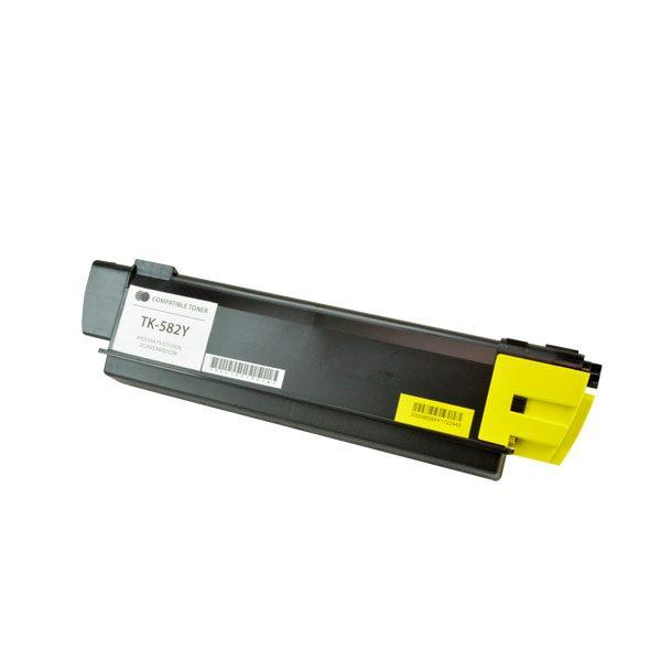 Kyocera Mita TK-582Y Yellow Compatible Copier Toner Cartridge