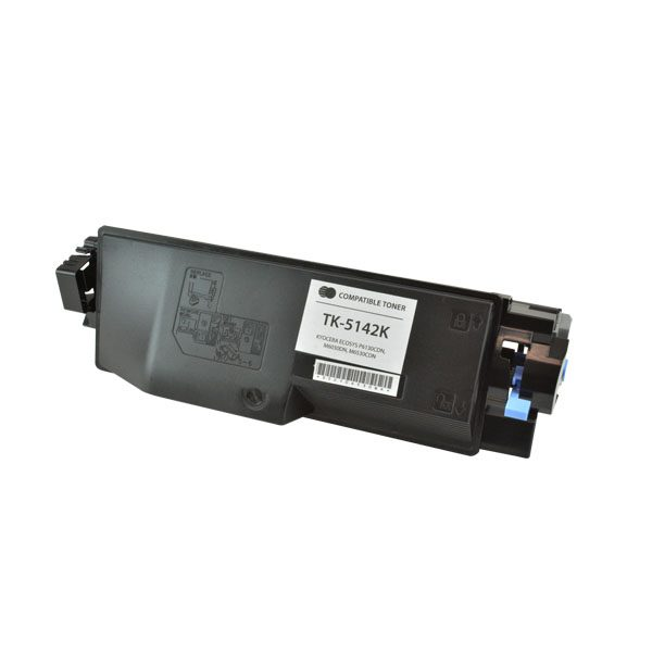Kyocera Mita TK-5142K Black Compatible Copier Toner Cartridge