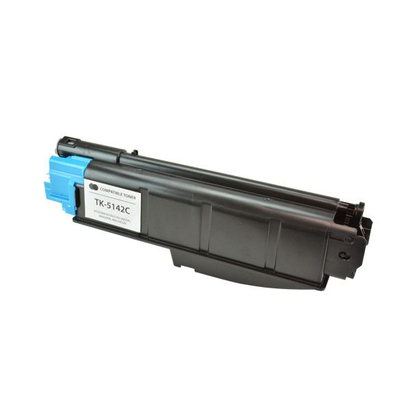 Kyocera Mita TK-5142C Cyan Compatible Copier Toner Cartridge