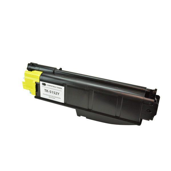 Kyocera Mita TK-5152Y Yellow Compatible Copier Toner Cartridge