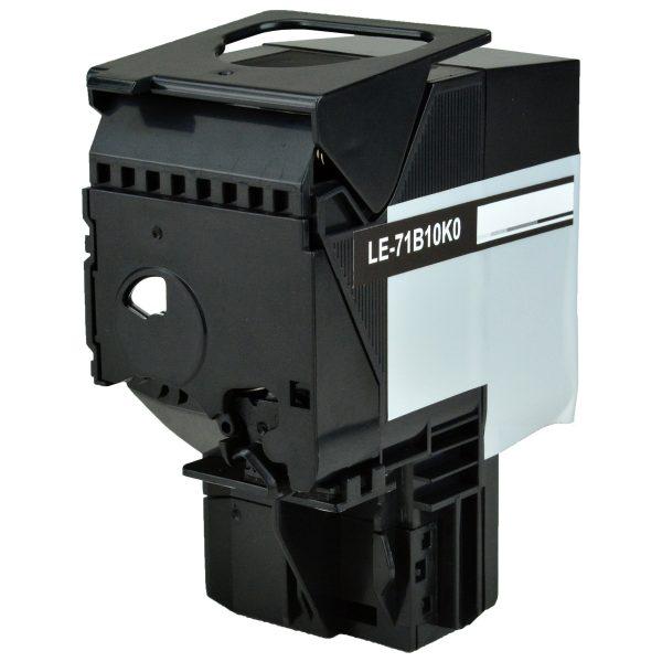 Lexmark 71B10K0 Black Compatible Toner Cartridge