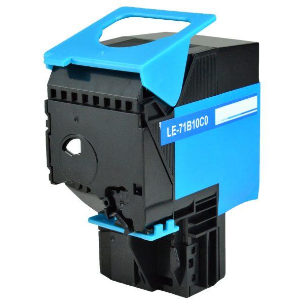 Lexmark 71B10C0 Cyan Compatible Toner Cartridge