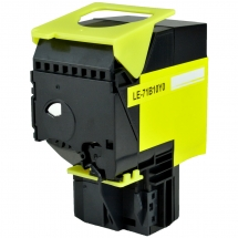 Lexmark 71B10Y0 Yellow Compatible Toner Cartridge