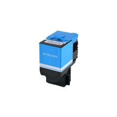 Lexmark 701HC High Yield Cyan Compatible Toner Cartridge