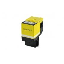 Lexmark 701HY High Yield Yellow Compatible Toner Cartridge
