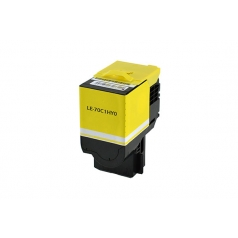 Lexmark 701HY High Yield Yellow Compatible Toner Cartridge