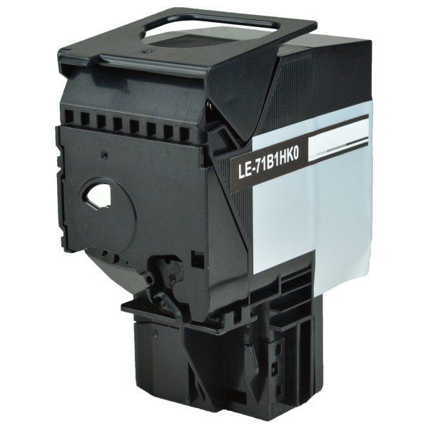 Lexmark 71B1HK0 High Yield Black Compatible Toner Cartridge