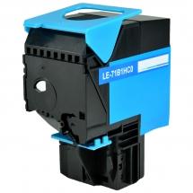 Lexmark 71B1HC0 High Yield Cyan Compatible Toner Cartridge