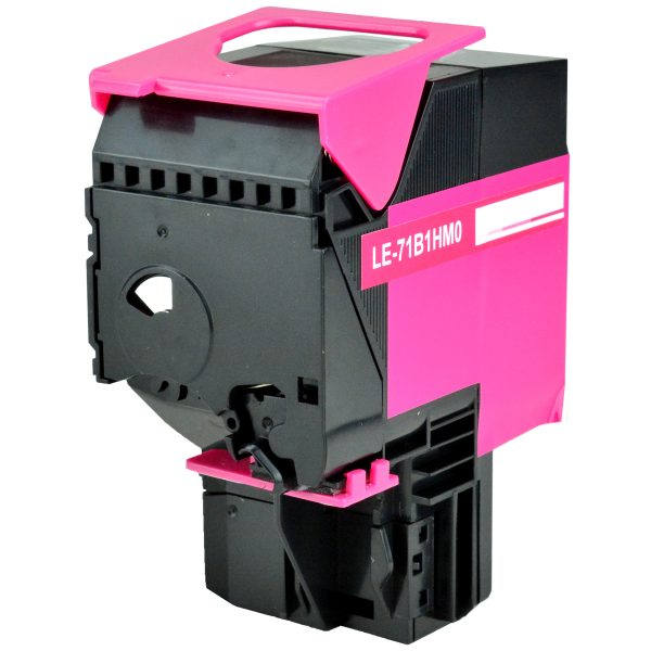 Lexmark 71B1HM0 High Yield Magenta Compatible Toner Cartridge