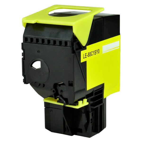 Lexmark 801SY Yellow Compatible Toner Cartridge