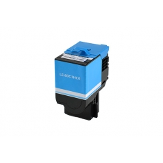 Lexmark 801HC High Yield Cyan Compatible Toner Cartridge