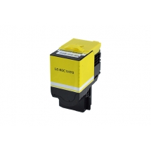 Lexmark 801HY High Yield Yellow Compatible Toner Cartridge