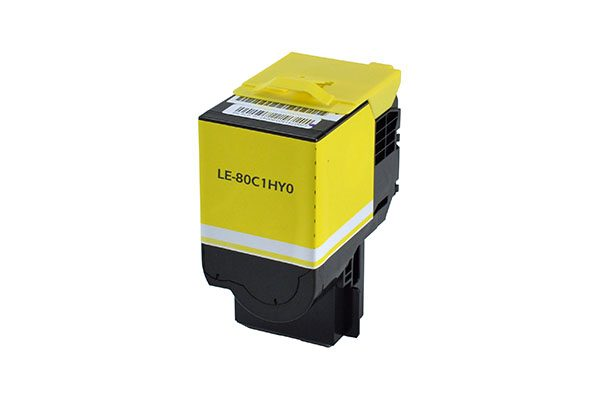 Lexmark 801HY High Yield Yellow Compatible Toner Cartridge