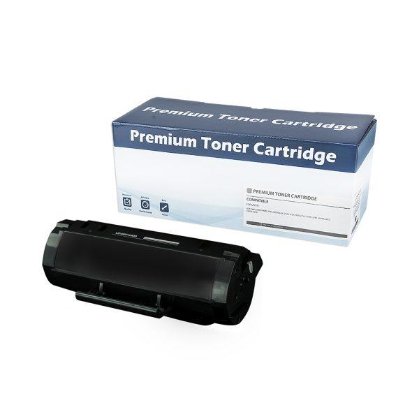 Lexmark 501H High Yield Black Compatible Toner Cartridge