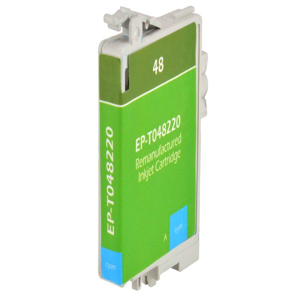Epson T48 Cyan Remanufactured Printer Ink Cartridge