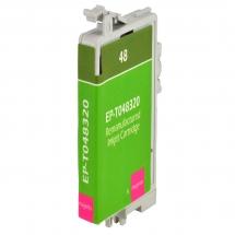 Epson T48 Magenta Remanufactured Printer Ink Cartridge