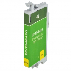 Epson T48 Yellow Remanufactured Printer Ink Cartridge