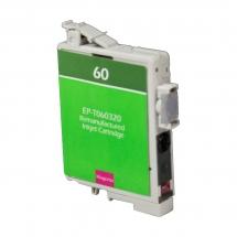 Epson T60 Magenta Remanufactured Printer Ink Cartridge