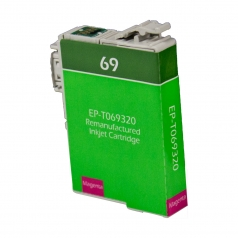 Epson T69 Magenta Remanufactured Printer Ink Cartridge