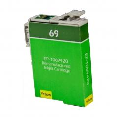 Epson T69 Yellow Remanufactured Printer Ink Cartridge