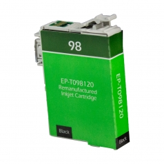 Epson T98 Black Remanufactured Printer Ink Cartridge