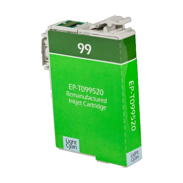 Epson T99 Light Cyan Remanufactured Printer Ink Cartridge