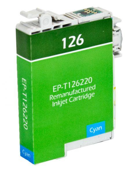 Epson T126 Cyan Remanufactured Printer Ink Cartridge