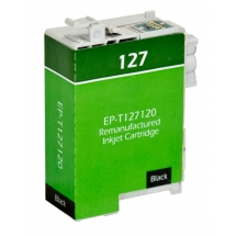 Epson T127 High Yield Black Remanufactured Printer Ink Cartridge