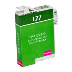 Epson T127 High Yield Magenta Remanufactured Printer Ink Cartridge
