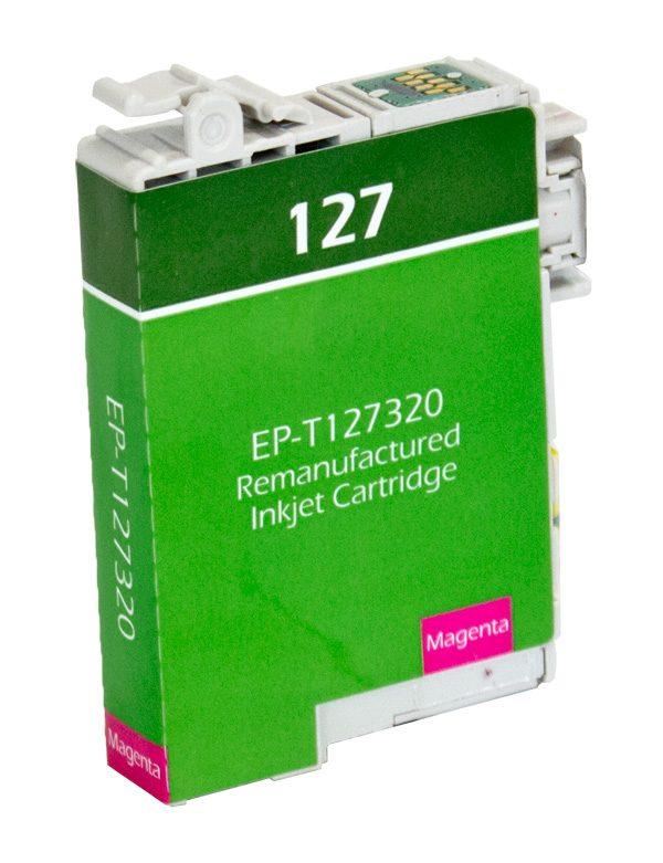 Epson T127 High Yield Magenta Remanufactured Printer Ink Cartridge