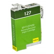 Epson T127 High Yield Yellow Remanufactured Printer Ink Cartridge