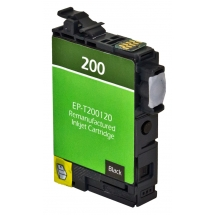 Epson T200 XL High Yield Black Remanufactured Printer Ink Cartridge