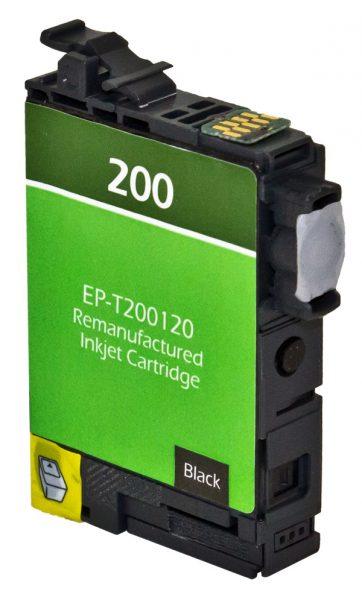 Epson T200 XL High Yield Black Remanufactured Printer Ink Cartridge
