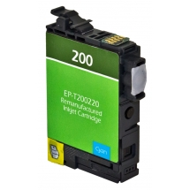 Epson T200 XL High Yield Cyan Remanufactured Printer Ink Cartridge