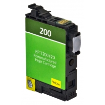 Epson T200 XL High Yield Yellow Remanufactured Printer Ink Cartridge