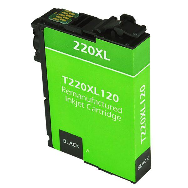 Epson T220 XL High Yield Black Remanufactured Printer Ink Cartridge